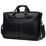 """Деловая сумка Bostanten B10023-17 black под ноутбук 17"""""""