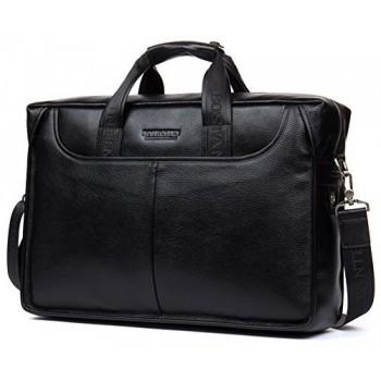 """Деловая сумка Bostanten B10023-13 black под ноутбук 13"""""""