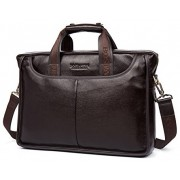 "Деловая сумка Bostanten B10023-15 brown под ноутбук 15"""