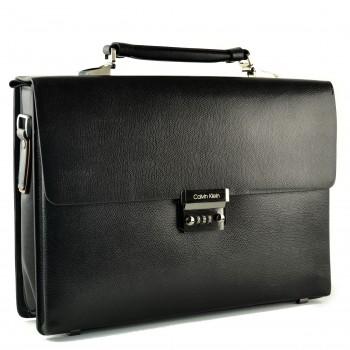 Портфель кожаный CK H-2602A black