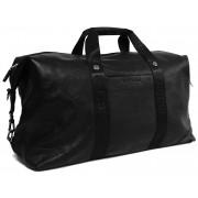 Кожаная дорожная сумка G K0870 black