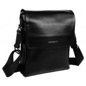 Кожаная сумка через плечо MB 168-1806 black