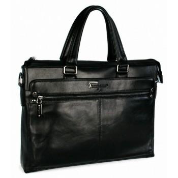 Кожаная сумка SF 9917-3 black
