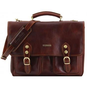 Портфель Tuscany Leather Modena - Малый размер TL141134 brown