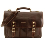 Портфель Tuscany Leather Modena - Малый размер TL141134 dark brown