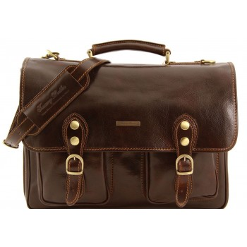 Портфель Tuscany Leather Modena - Малый размер TL141134 dark brown
