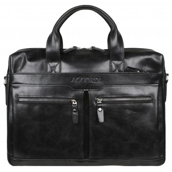 Деловая сумка Accordi 7122 black