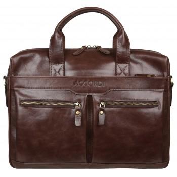 Деловая сумка Accordi 7122 brown