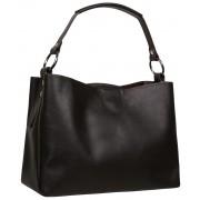 Женская кожаная сумка Accordi Edgarda brown