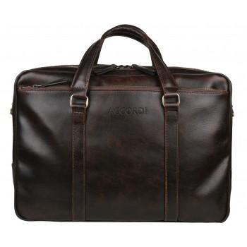 Деловая сумка Accordi Leonardo brown