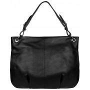 Женская кожаная сумка Accordi Sofia black