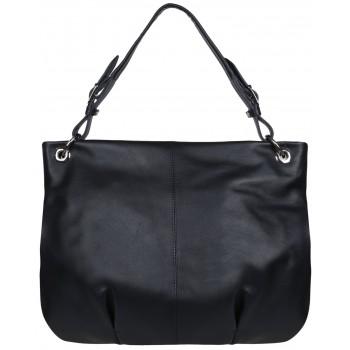 Женская кожаная сумка Accordi Sofia blue