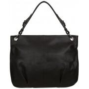 Женская кожаная сумка Accordi Sofia relief brown