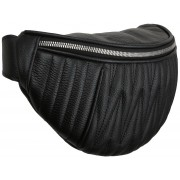 Женская сумка на пояс Accordi Berta black