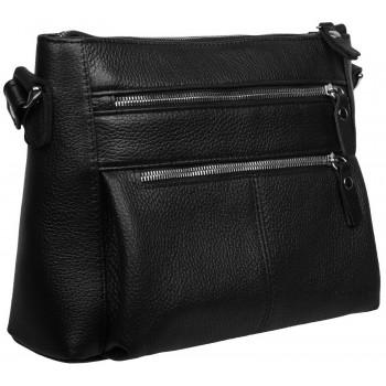 Кожаная сумка кросс-боди Accordi Erica black