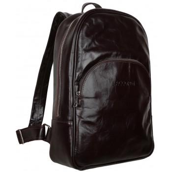 Кожаный рюкзак Accordi Ilon dark brown