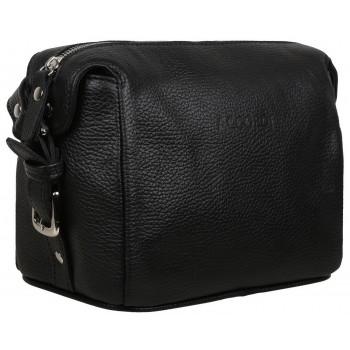 Кожаная сумка через плечо Accordi Lily black