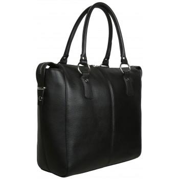 Женская кожаная сумка Accordi Noemi black
