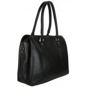 Женская кожаная сумка Accordi Ornella black