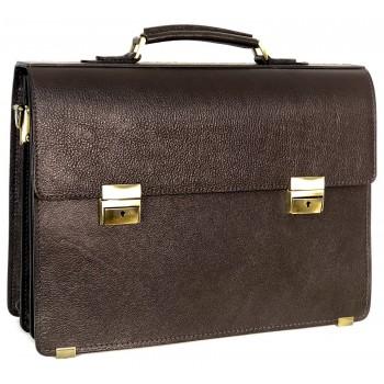 Портфель Accordi Prestige Grande brown