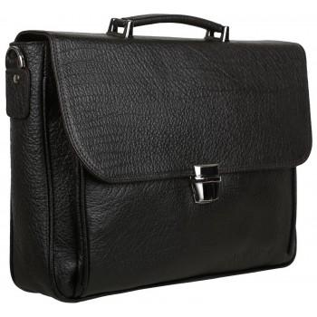 Кожаный портфель Accordi Sandro buffalo brown