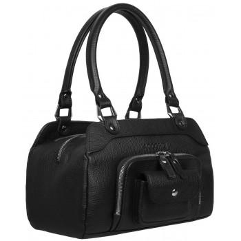 Женская сумка из кожи Accordi Viola black
