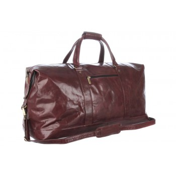 Дорожная сумка Ashwood Leather Lewis 2081 cognac