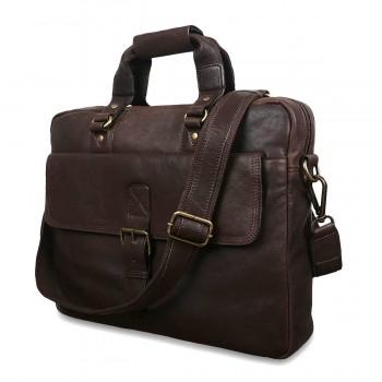 Сумка для ноутбука Ashwood Leather 8683 brown