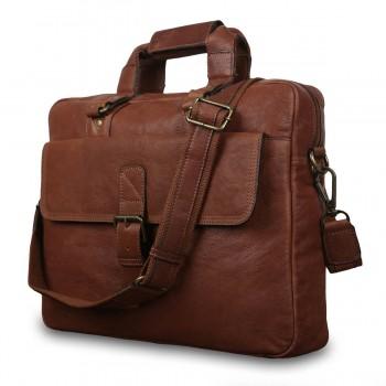 Сумка для ноутбука Ashwood Leather 8683 tan