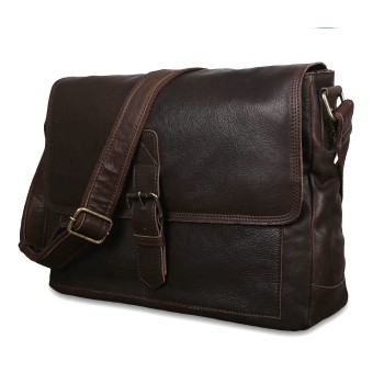 Мессенджер Ashwood Leather 8686 brown