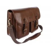 Сумка Ashwood Leather Edward chestnut brown