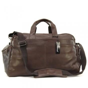 Дорожная сумка Ashwood Leather R6-21 brown