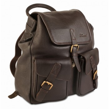 Рюкзак Ashwood Leather Rucksack dark brown