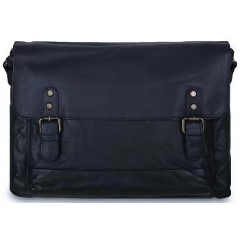 Деловая сумка Ashwood Leather 1336 navy