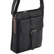 Сумка через плечо Ashwood Leather 4551 black