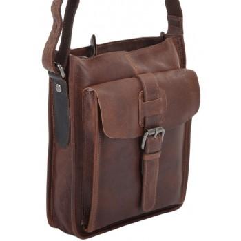 Сумка через плечо Ashwood Leather 4551 cognac