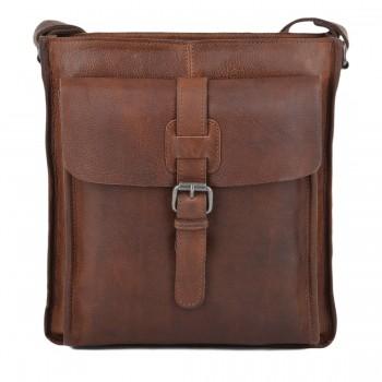 Сумка через плечо Ashwood Leather 4552 cognac