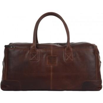 Дорожная сумка Ashwood Leather 4556 cognac