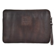 Кожаная папка Ashwood Leather 7992 brown