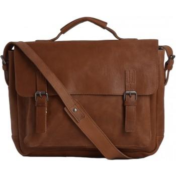 Кожаный портфель Ashwood Leather Bradley tan