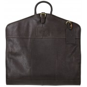 Кожаный портплед Ashwood Leather Harper dark brown