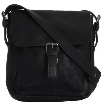 Сумка через плечо Ashwood Leather Ivan black