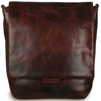 Сумка через плечо Ashwood Leather Adam vintage tan