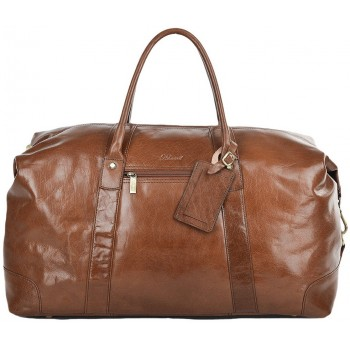 Дорожная сумка Ashwood Leather Lewis 2081 chestnut brown