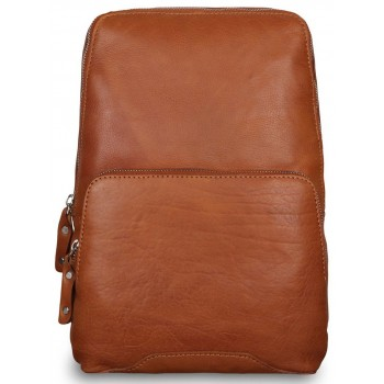 Рюкзак Ashwood Leather Slingo tan
