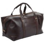 Дорожная сумка Ashwood Leather Stanley brown