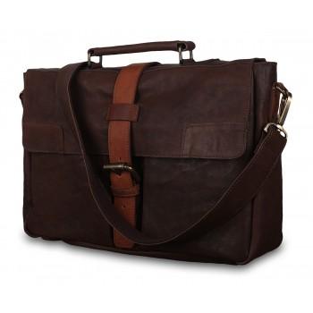 Портфель Ashwood Leather Doris brown/cognac