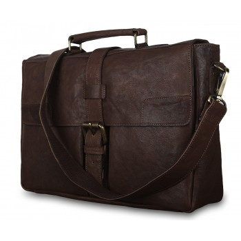 Портфель Ashwood Leather Doris dark taupe