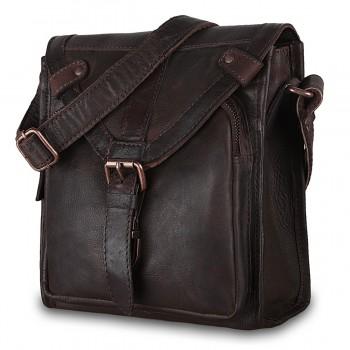 Сумка через плечо Ashwood Leather Plato brown