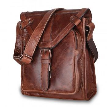 Сумка через плечо Ashwood Leather Plato tan